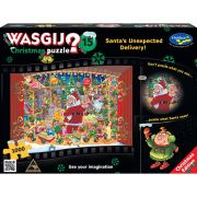 Wasgij Xmas #15 1000 Piece Jigsaw Puzzle Santa's Unexpected Delivery!