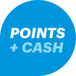 Use Points + Cash