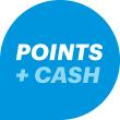 Use Points + Cash